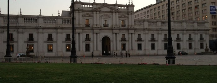 Palacio de La Moneda is one of Santiago, Chile #4sqCities.