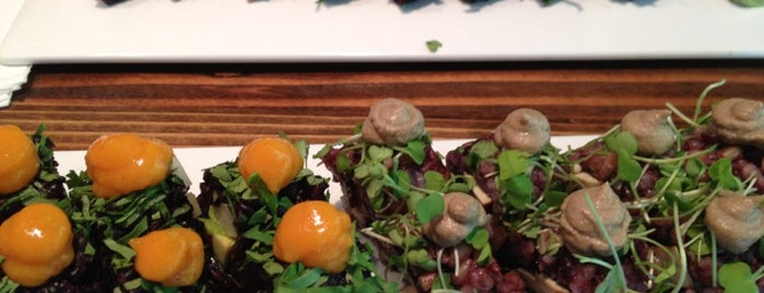 Beyond Sushi is one of Great places to eat Vegetarian and Vegan in NYC.