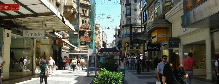 Peatonal Florida is one of Buenos Aires.