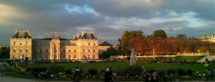 Jardin du Luxembourg is one of First Time in Paris?.