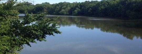 Scioto Audubon River Observation Deck is one of Columbus Area Parks & Trails.