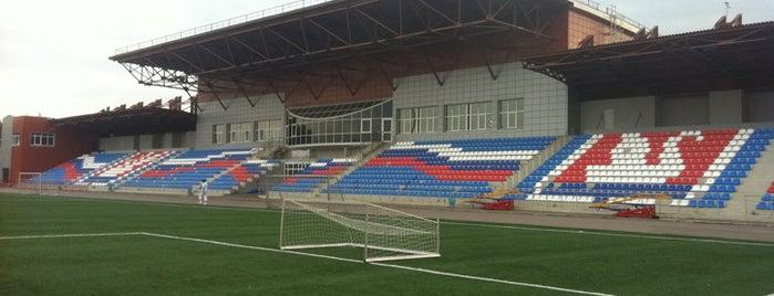Стадион «Салют» is one of Stadiums.