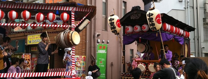 立川駅南口ペデストリアンデッキ is one of 喫煙所.