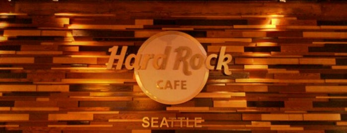 Hard Rock Cafe Seattle is one of Where to eat near the Seattle Monorail platforms!.