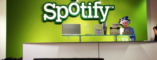 Spotify Limited (HQ) is one of London.