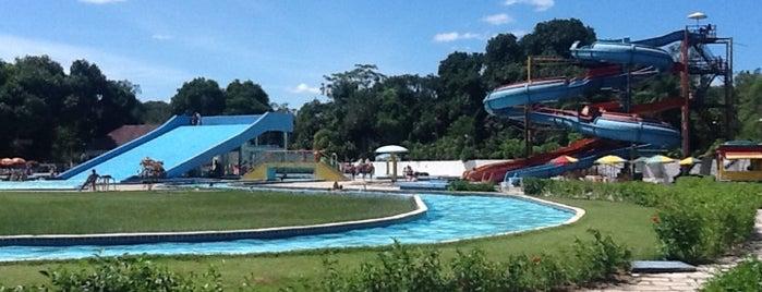 Aldeia Water Park is one of Locais para passear, relaxar e se divertir.