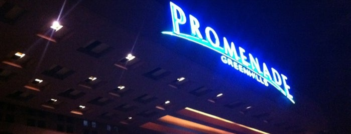 Promenade is one of Metro Manila.