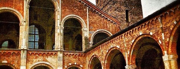 Basilica di Sant'Ambrogio is one of 101Cose da fare a Milano almeno 1 volta nella vita.