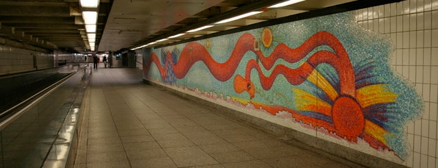 MTA Subway - Court Square (E/G/M/7) is one of Subway Art in NYC.