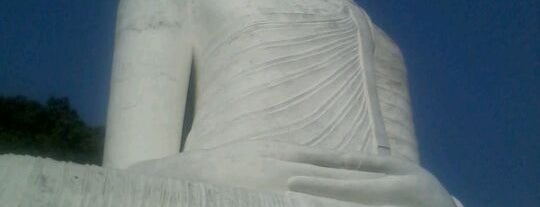 Bahirawakanda Buddha statue is one of Trips / Sri Lanka.