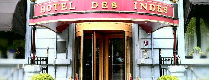 Hotel Des Indes - A Luxury Collection Hotel is one of Happy The Hague.