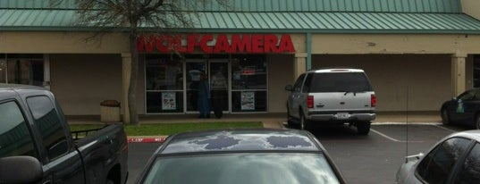 Wolf Camera is one of * Gr8 Dallas Shopping (non-grocery).