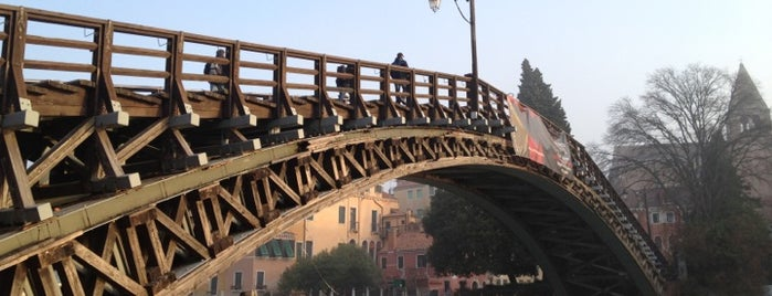 Ponte dell'Accademia is one of Hotel alla Salute Neighbourhood.