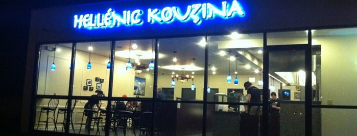 Hellenic Kouzina is one of My Favorite Restaurants.