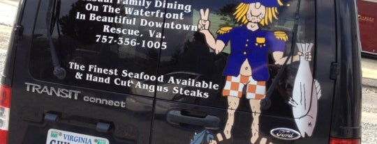 Captain Chuck-a-Mucks is one of DINERS DRIVE-IN & DIVES 3.