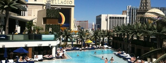 Boulevard Pool is one of Cosmopolitan VIP badge.