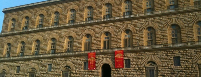 Pitti Palace is one of Italis.