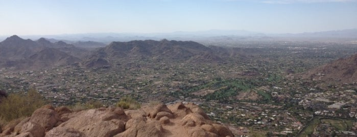 Camelback Mountain is one of PHX Parks in The Valley.