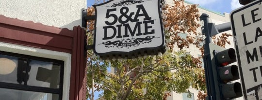 5 & A Dime is one of The Best Spots in San Diego, CA! #visitUS.