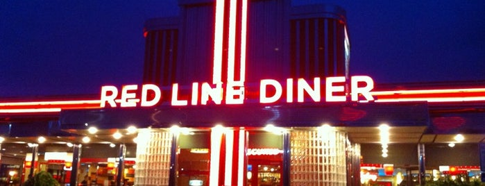 Red Line Diner is one of Well-Dined.