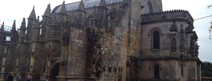 Rosslyn Chapel is one of Edinburgh.