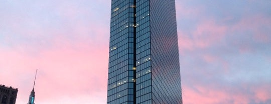 John Hancock Tower is one of Hub History.