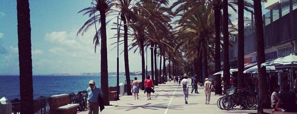 Marbella Boardwalk is one of Alex.