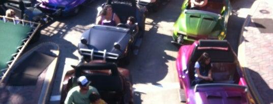 Autopia is one of Disneyland Fun!!!.