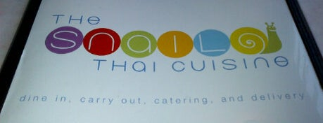 The Snail Thai Cuisine is one of Traveling Chicago.