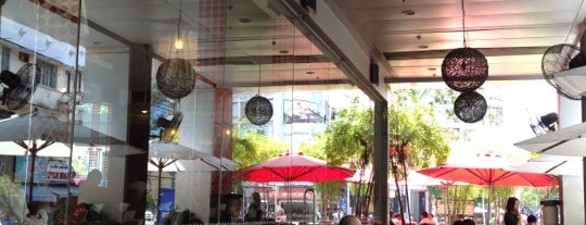 Café Terrace is one of Hav-to-go places in HCM City....