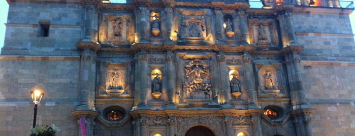Catedral Oaxaca is one of Trips / Mexico.