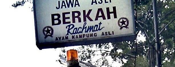 "Ayam Goreng ""Berkah"" Rachmat is one of Must-visit Food in Jakarta Capital Region."
