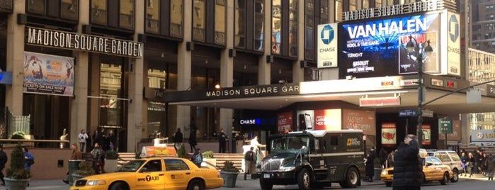 Madison Square Garden is one of JYM Hockey Arenas TOP100.