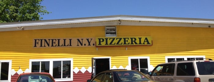 Finelli New York Pizzeria is one of Top 10 dinner spots in Ellsworth/ MDI, ME.