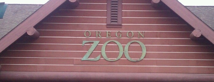 Oregon Zoo is one of Check-In.