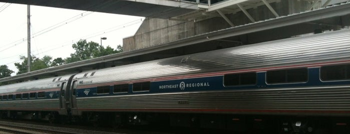 BWI Amtrak/MARC Rail Station (BWI) is one of Train Stations.