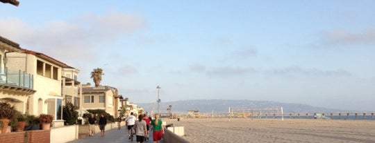 Hermosa Beach - The Strand is one of Beach Bouncing in So Cal.