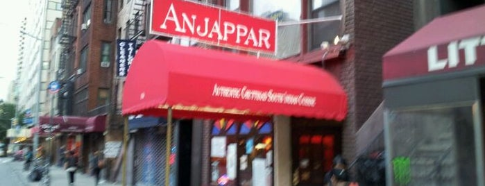 Anjappar New York is one of Eating & Drinking in New York / Brooklyn.