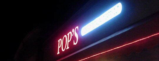 Pop's Pizza & Sports Bar is one of Official Blackhawks Bars.