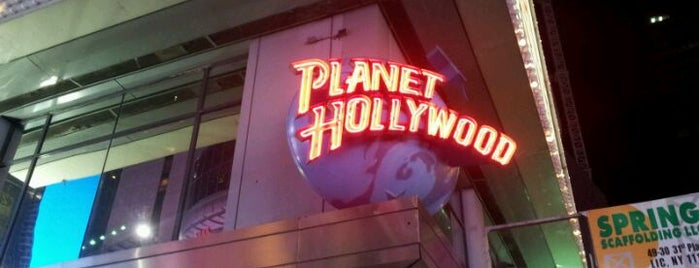 Planet Hollywood is one of All-time favorites in United States.