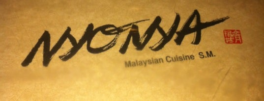Nyonya is one of Soho.