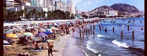 Playa del Postiguet is one of Alicante urban treasures.