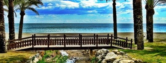 Bajondillo Beach is one of Andalucia.