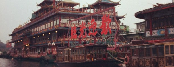 Jumbo Kingdom (Jumbo Floating Restaurant) 珍寶王國(珍寶海鮮舫) is one of Hong Kong.