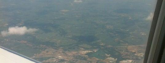 Gate B30 is one of Cincinnati Airport.