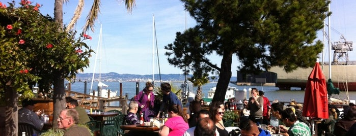 The Ramp is one of The Best Outdoor Bars in San Francisco.