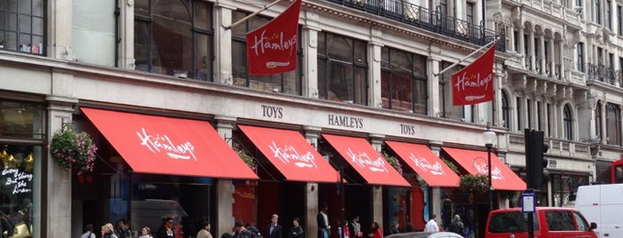 Hamleys is one of London City Badge - London Calling.