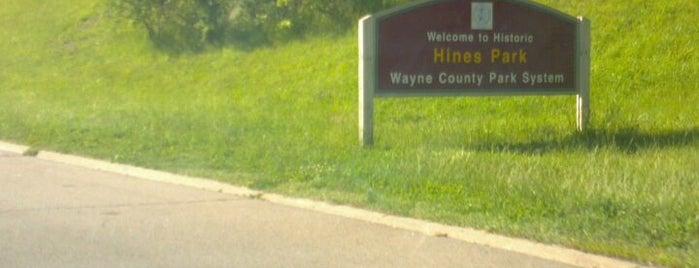 Hines Park is one of Comfort Zones.