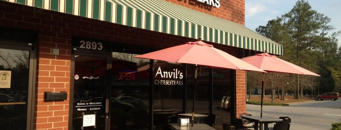 Anvil's Cheesesteaks is one of Quick Bites.
