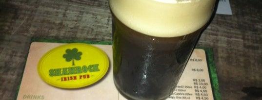 Shamrock Irish Pub is one of Nightlife in Porto Alegre.